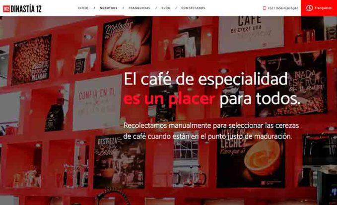 Dinastia 12 Franquicia de café en México